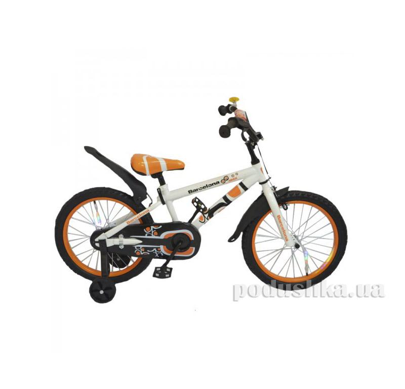 Велосипед Rueda Barcelona 14 Оранжевый