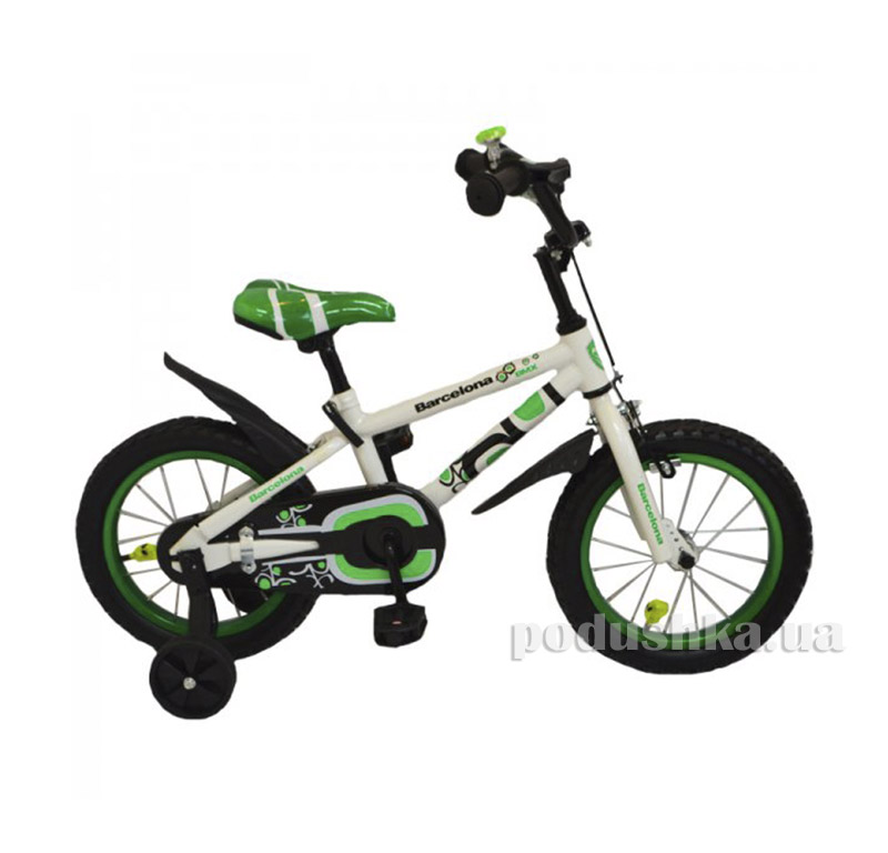 Велосипед Rueda Barcelona 14 Зеленый   Rueda