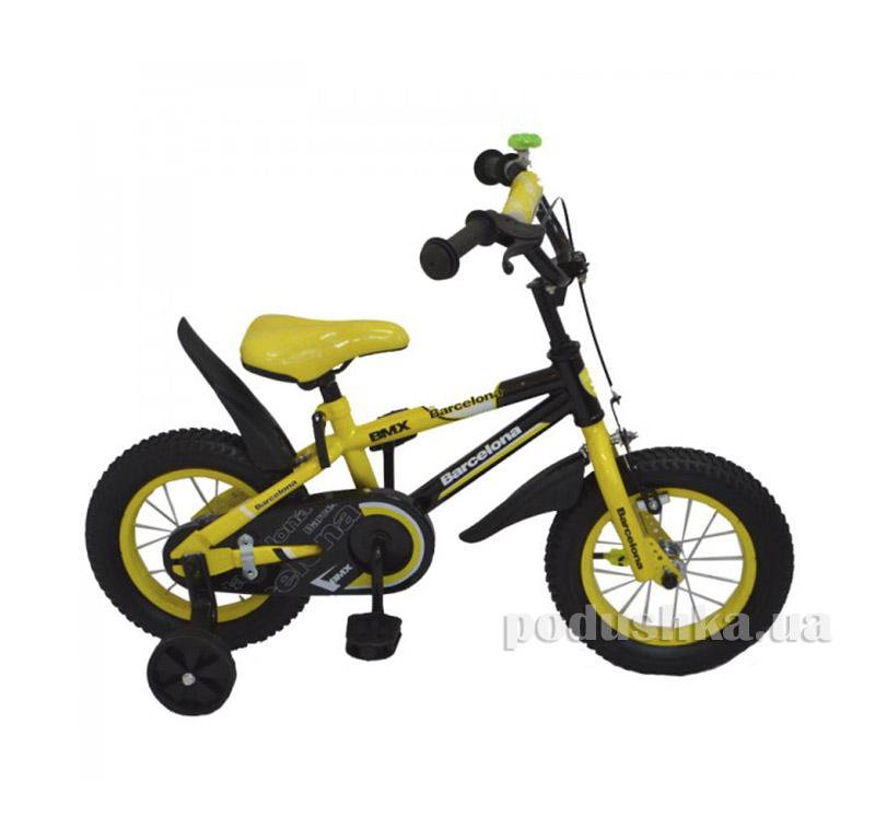 Велосипед Rueda Barcelona 14 Желтый