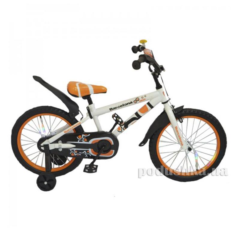 Велосипед Rueda Barcelona 16 Оранжевый