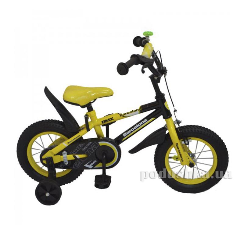 Велосипед Rueda Barcelona 16 Желтый