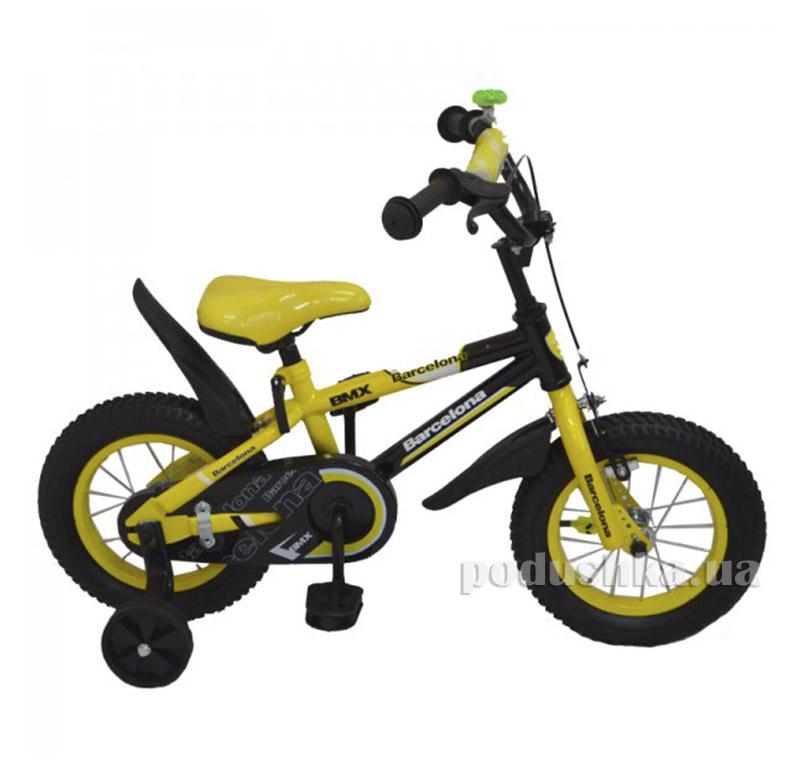 Велосипед Rueda Barcelona 18 Желтый