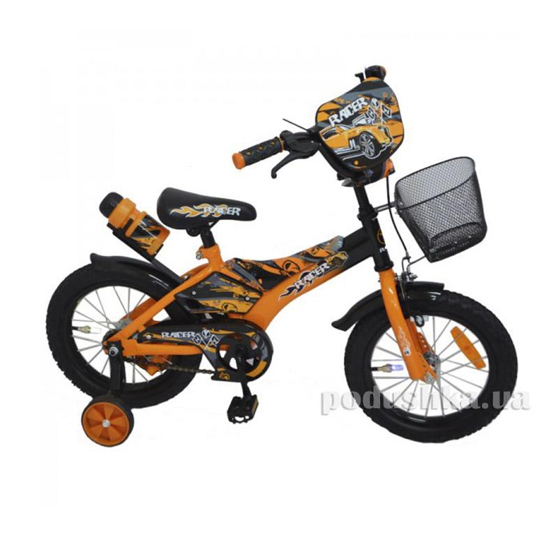 Велосипед Rueda Racer 14 Оранжевый