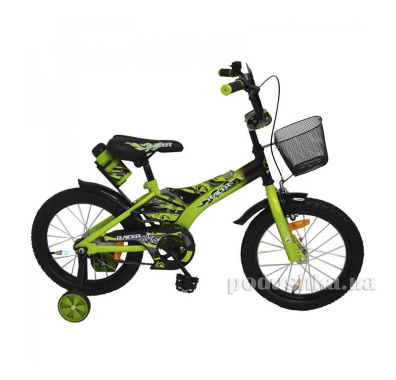 Велосипед Rueda Racer 14 Зеленый