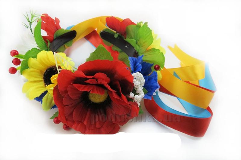 Венок украинский классический Полевые цветы Витус