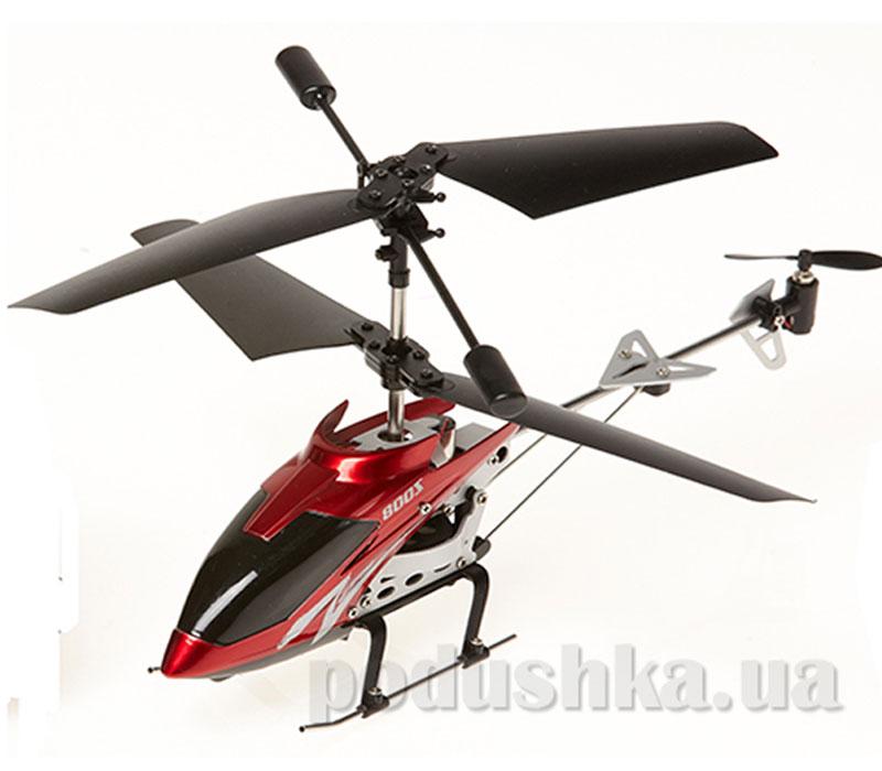 Вертолет на ИК управлении с пультом-перчаткой - Falcon (красный, 3-канальный, 20 см, c гироскопом )