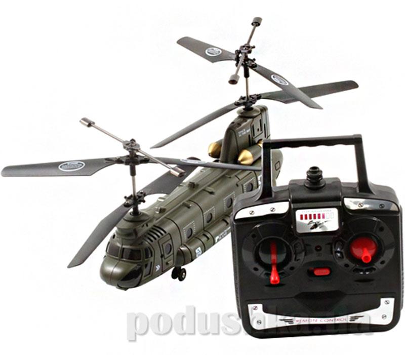 Вертолет на радиоуправлении Властелин Небес Army Helicopter