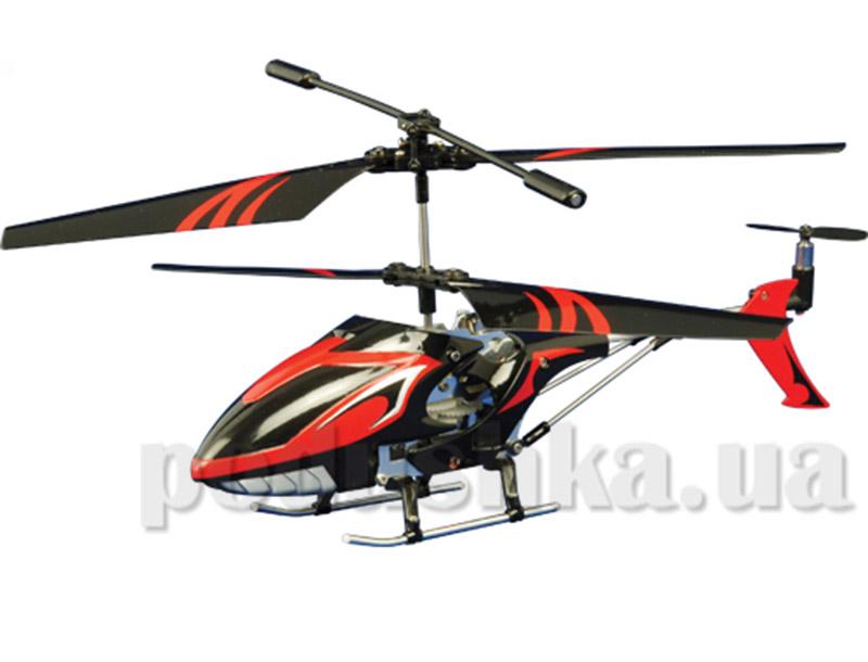 Вертолет радиоуправляемый - LIGHTENING FALCON (красный, 20 см, с гироскопом)