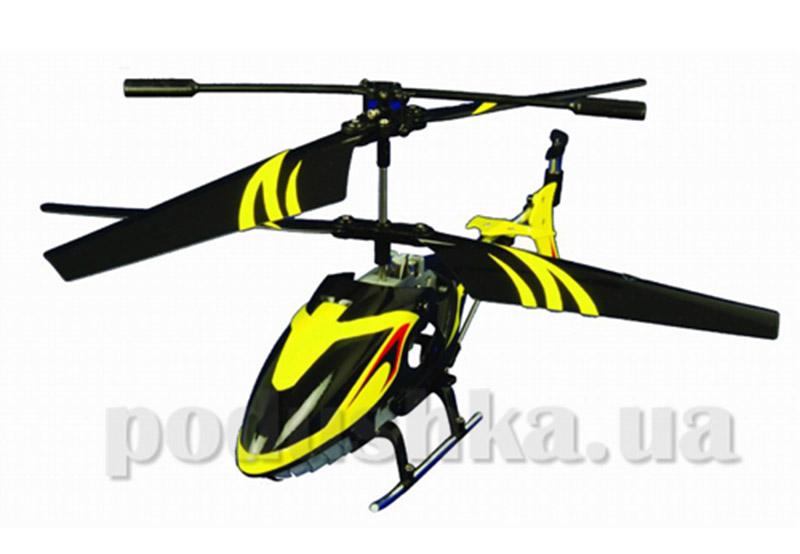 Вертолет радиоуправляемый - LIGHTENING FALCON (желтый, 20 см, с гироскопом)