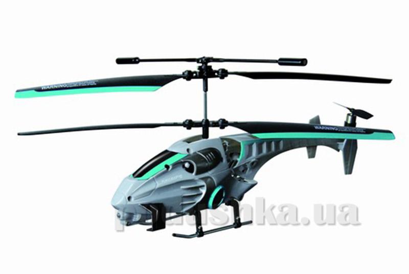 Вертолет радиоуправляемый - NAVIGATOR круиз-контроль (синий, 20 см, с гироскопом, 3 канала)