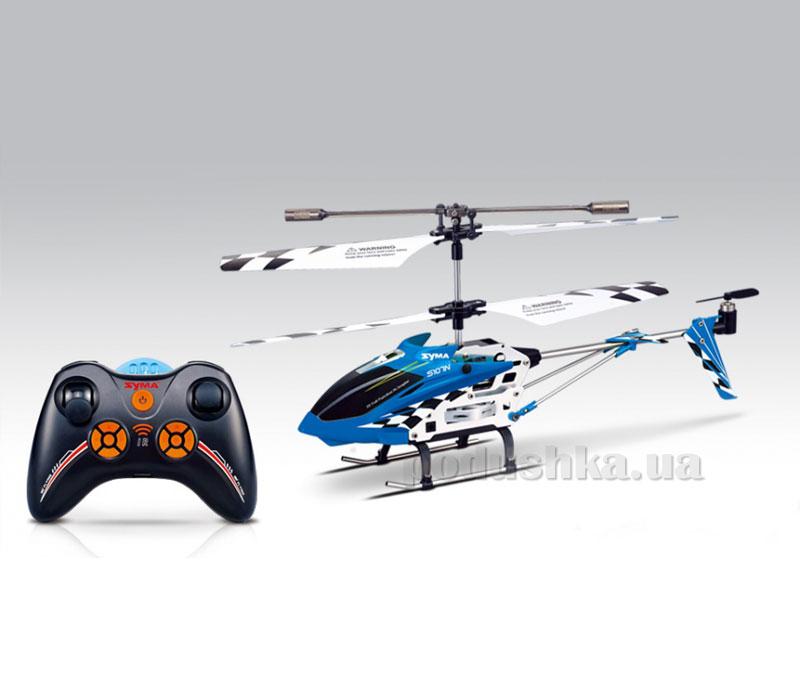 Вертолёт с 3-х канальным и/к управлением, светом и гироскопом Syma S107N 24 см