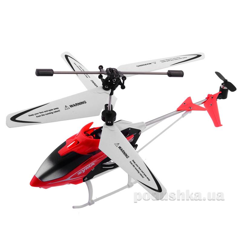 Вертолёт с 3-х канальным и/к управлением, светом и гироскопом Syma S5