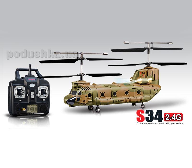 Вертолёт Syma S34 на радиоуправлении 46 см