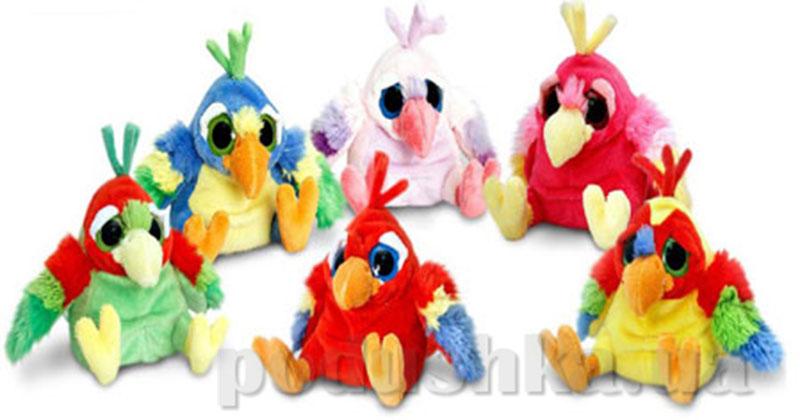 Веселые попугаи игрушка 6 в ассортименте Keel Toys