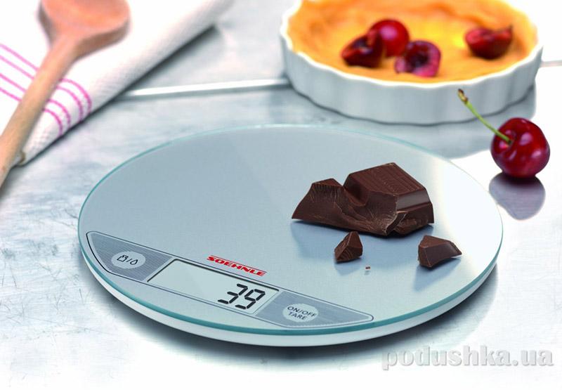 Весы кухонные электронные Flip Soehnle silver