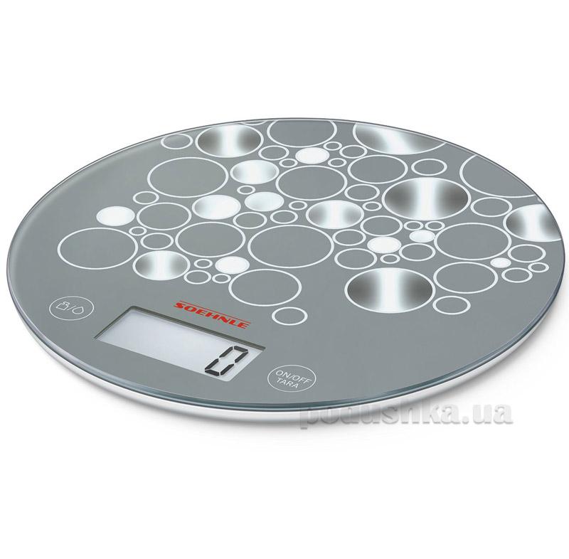 Весы кухонные электронные Soehlne Flip Design Edition Grey