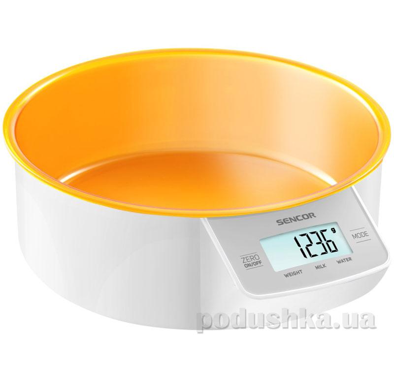 Весы кухонные Sencor SKS4004OR   Sencor