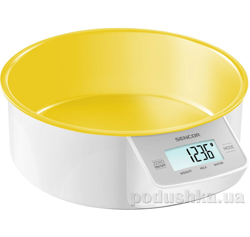 Весы кухонные Sencor SKS4004YL   Sencor