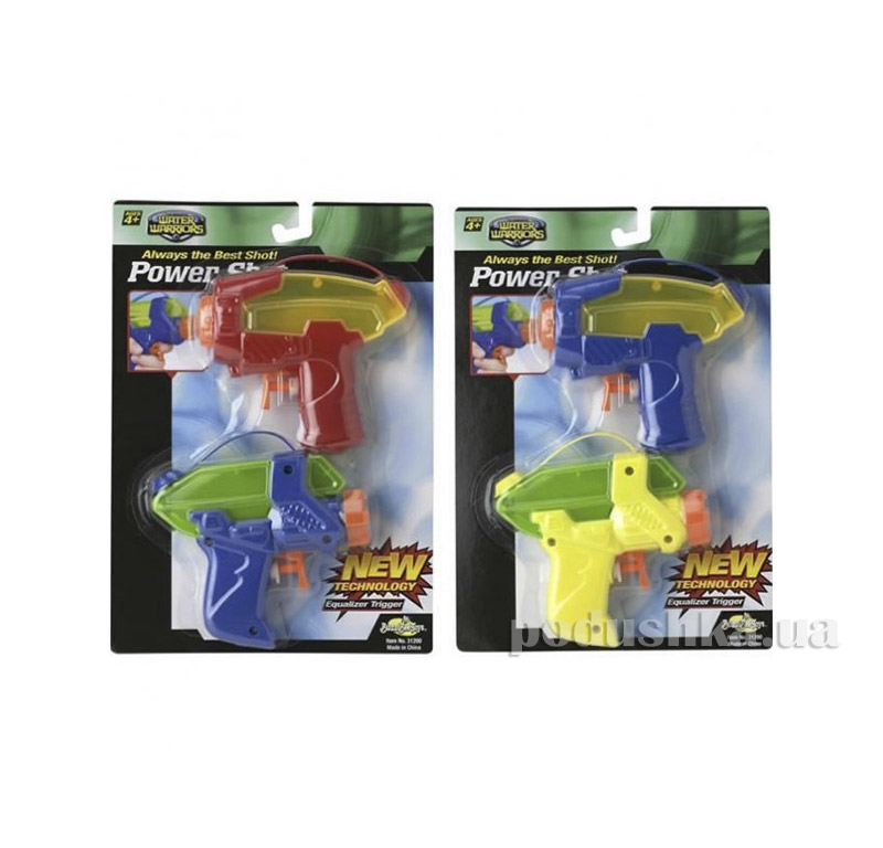 Водное оружие Power Shot Blaster 2 pack BuzzBeeToy 31203