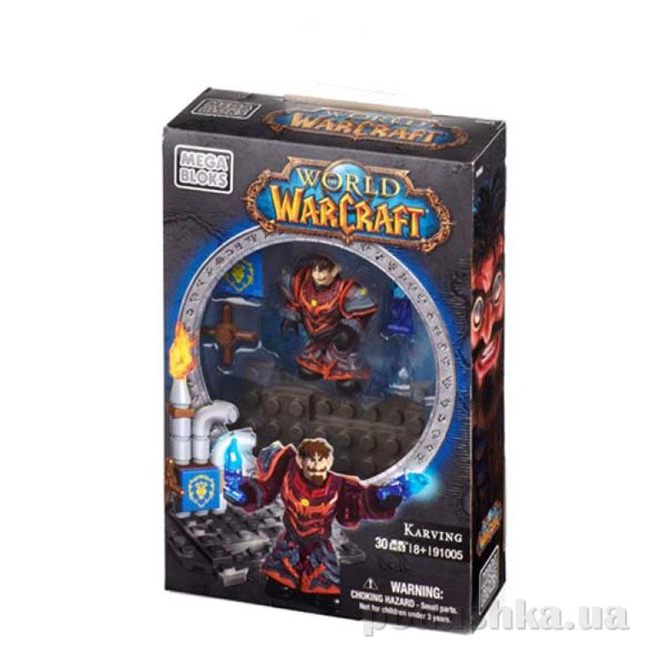 Вселенная Warcraft Альянс Набор Гном варлок 91005 Mega Bloks