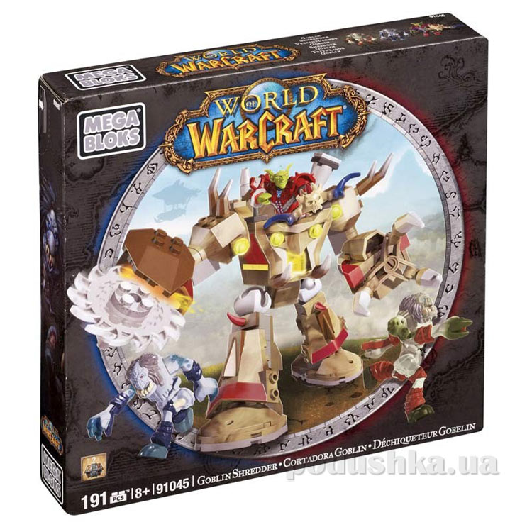 Вселенная Warcraft Альянс Набор конструктора Гоблин 91045 Mega Bloks