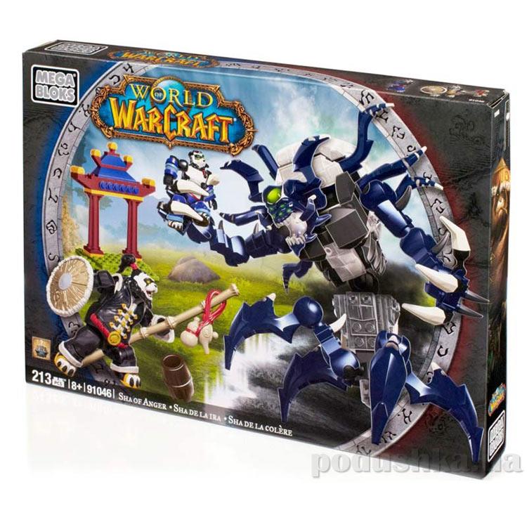 Вселенная Warcraft Альянс Набор конструктора Ярость 91046 Mega Bloks