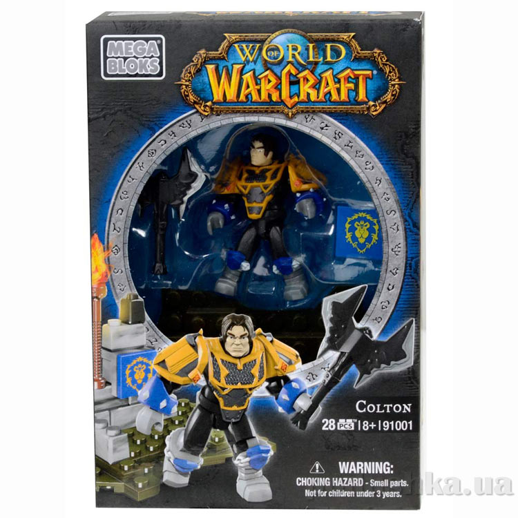 Вселенная Warcraft Альянс Набор Паладин 91001 Mega Bloks