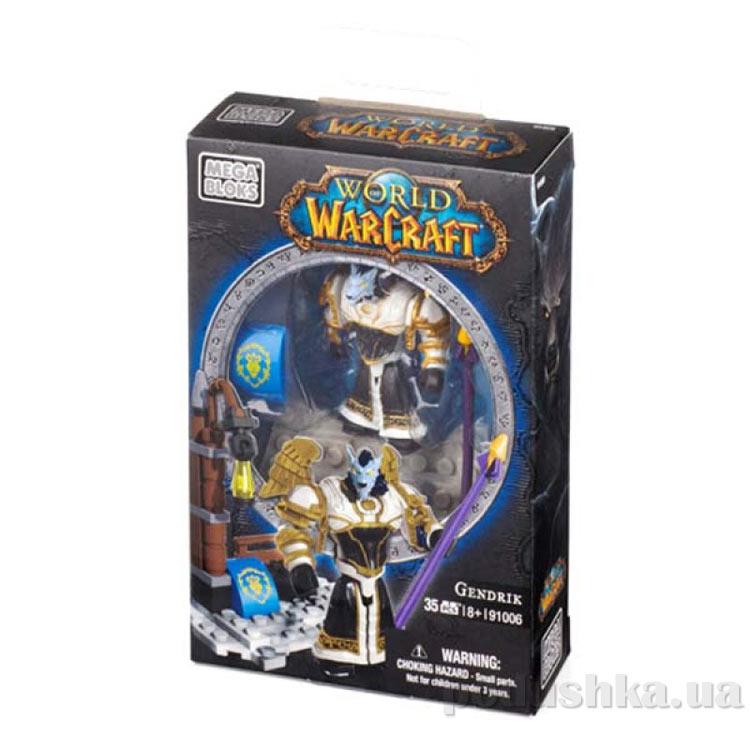 Вселенная Warcraft Альянс Набор Жрец Воргенов 91006 Mega Bloks