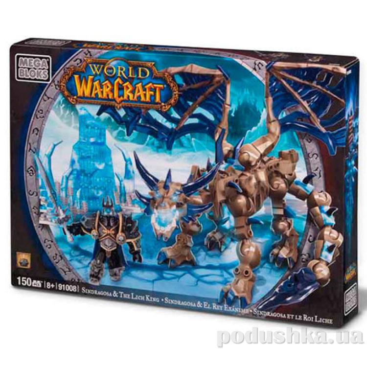 Вселенная Warcraft Набор конструктора Артас и дракон Синдрагоса 91008 Mega Bloks