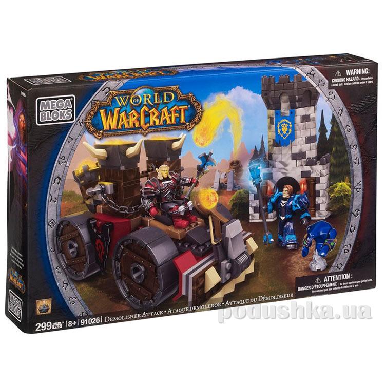 Вселенная Warcraft Набор конструктора Осада Машина для атаки 91026 Mega Bloks