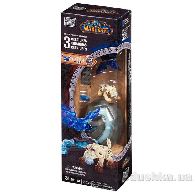Вселенная Warcraft Набор конструктора с 3 фигурками 91036 Mega Bloks
