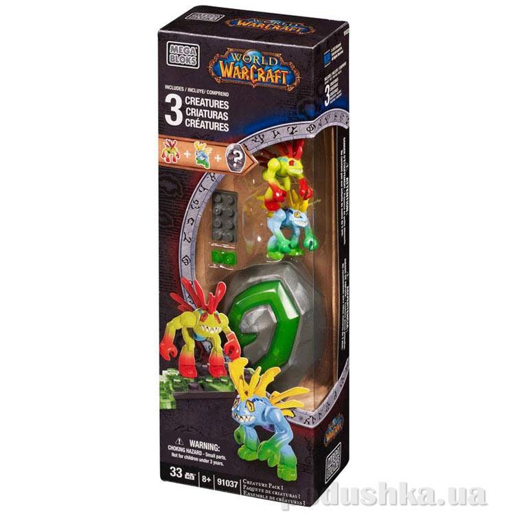 Вселенная Warcraft Набор конструктора с 3 фигурками 91037 Mega Bloks