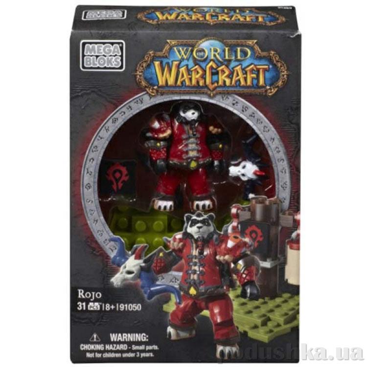 Вселенная Warcraft Орда Набор Охотник панда 91050 Mega Bloks
