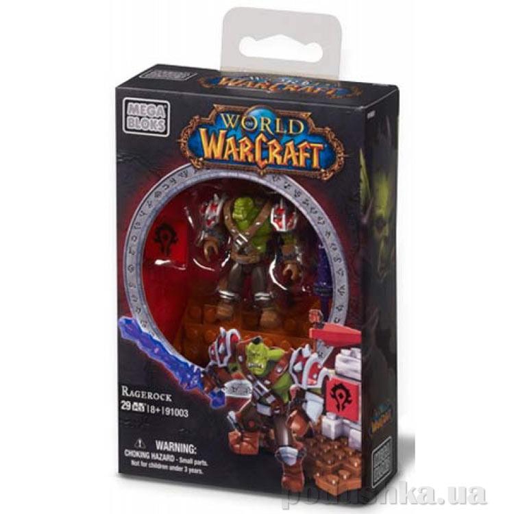 Вселенная Warcraft Орда Набор Орк воин 91003 Mega Bloks