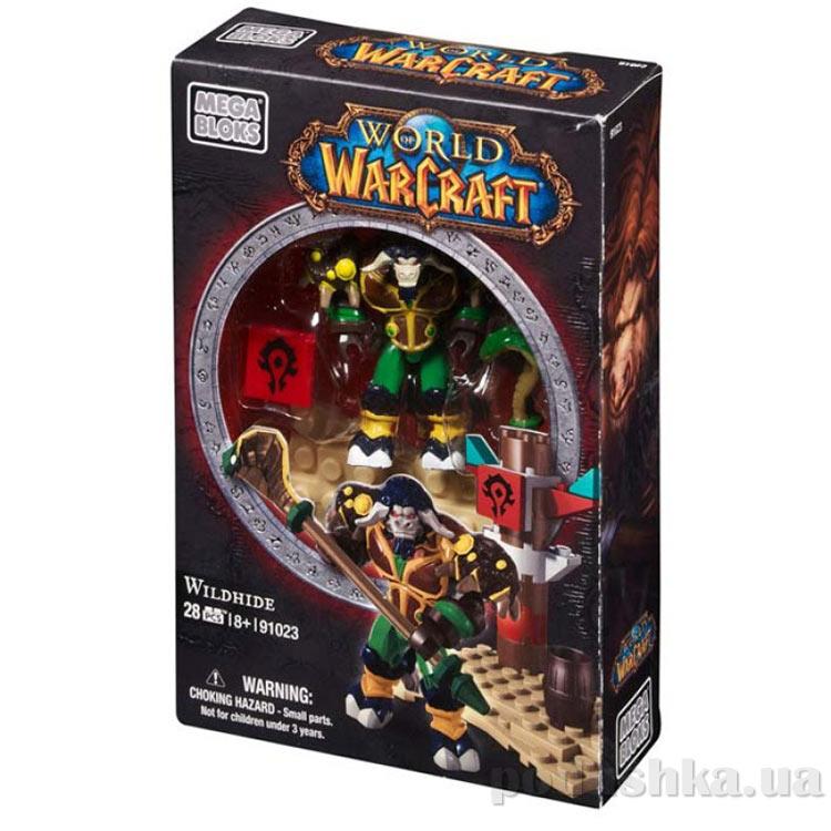 Вселенная Warcraft Орда Набор Таурен друид 91023 Mega Bloks