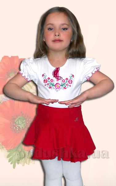 Вышитая сорочка для девочек Bimbissimi ФД-12 Фиалка