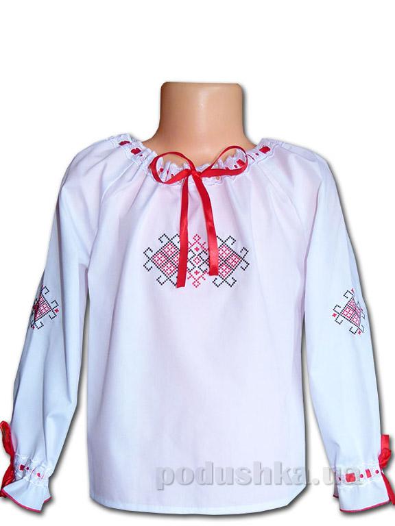 Вышитая сорочка для девочек Bimbissimi ВСД-021