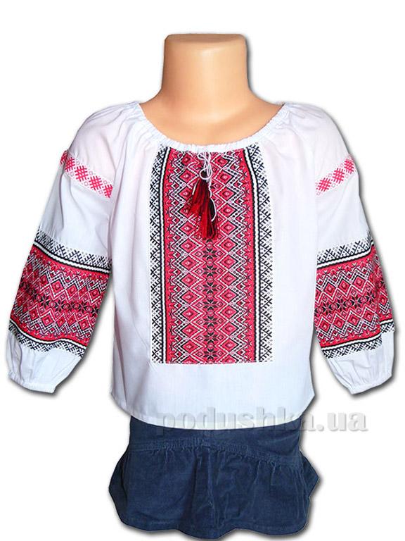 Вышитая сорочка для девочек Bimbissimi ВСД-023