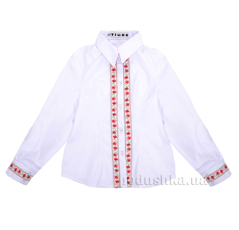 Вышиванка для девочки Timbo Ukraine V010204 Маки