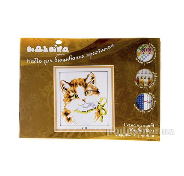 Вышивка  Животные Модная кошка Идейка 06000189