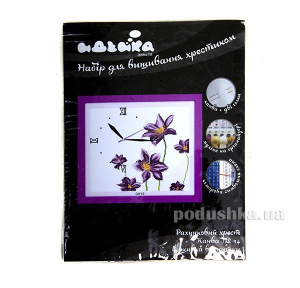 Вышивка Часы Цветочный аромат Идейка 06000012