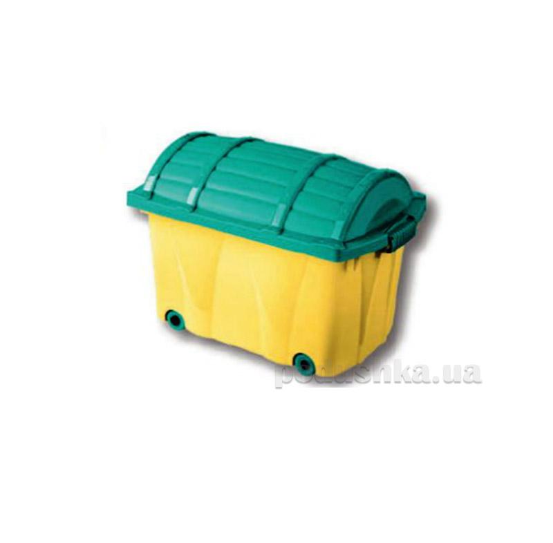 Ящик для игрушек Stockholm Curver Сундук пирата 0571