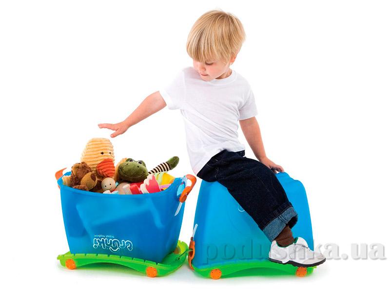 Ящик для игрушек Trunki Toy Box Blue TRUA-0051