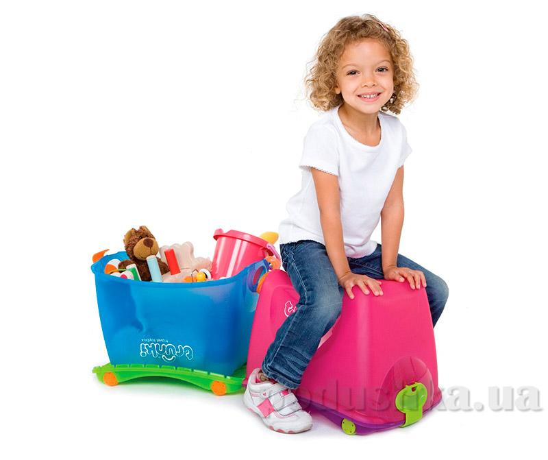Ящик для игрушек Trunki Toy Box Pink TRUA-0052