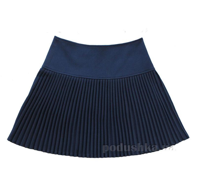 Юбка для девочки Промiнь ВД-0907. синяя