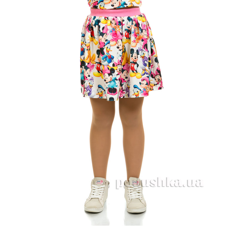 Юбка Мики Маус Kids Couture 16-09 белая