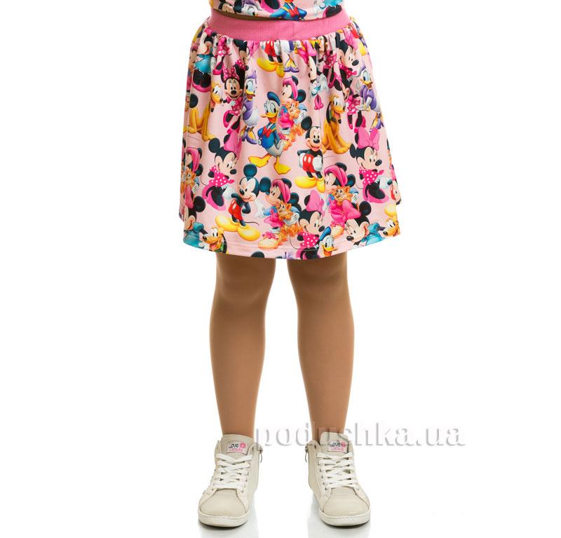 Юбка Мики Маус Kids Couture 17-202 розовая