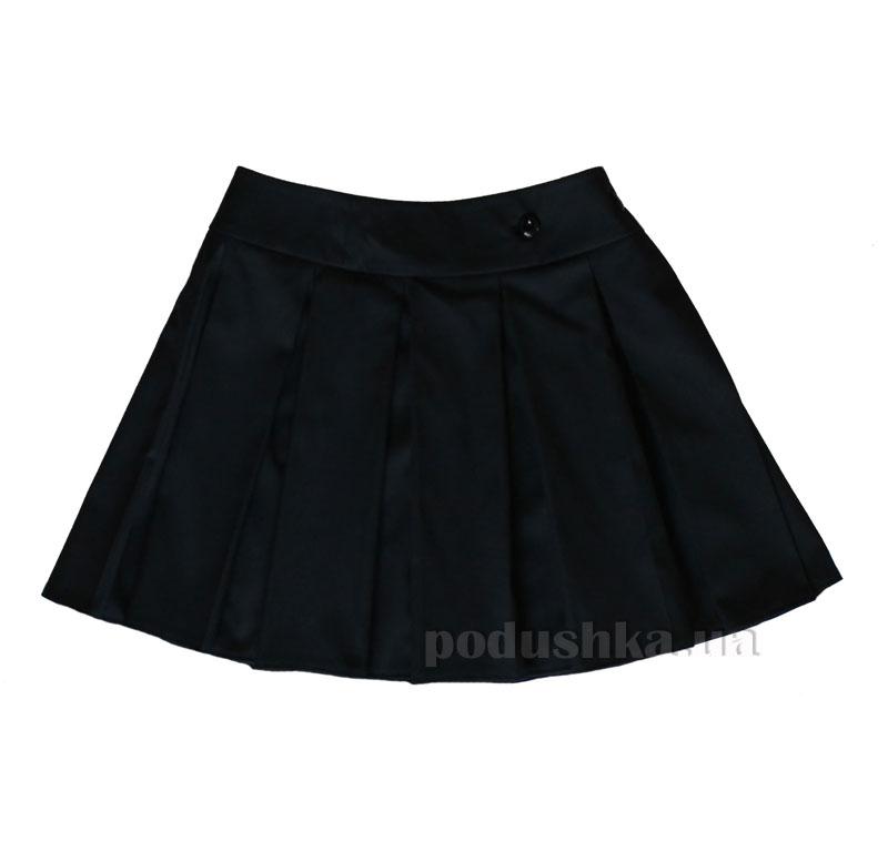 Юбка с запахом Промiнь ВД0904 черная