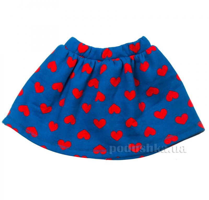 Юбка Сердце Kids Couture 16-09 синяя