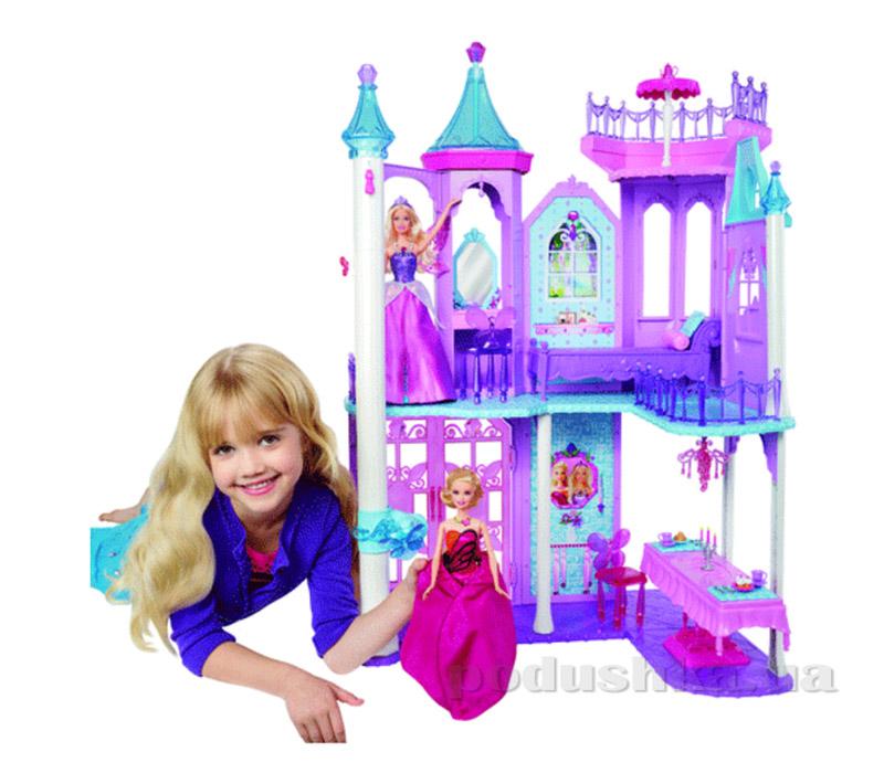 Замок с мультфильма Марипоса и принцесса фей Barbie